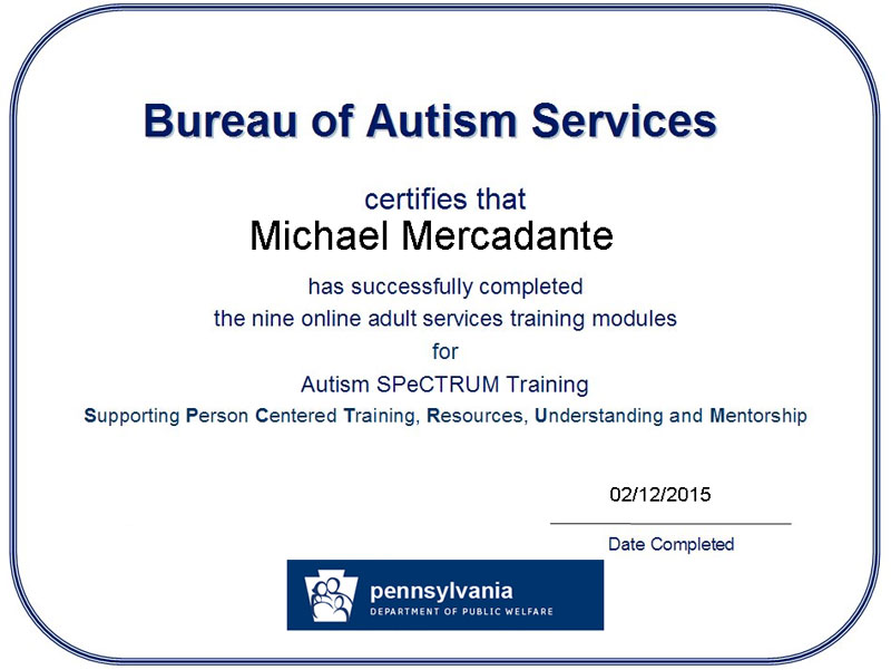 autism module