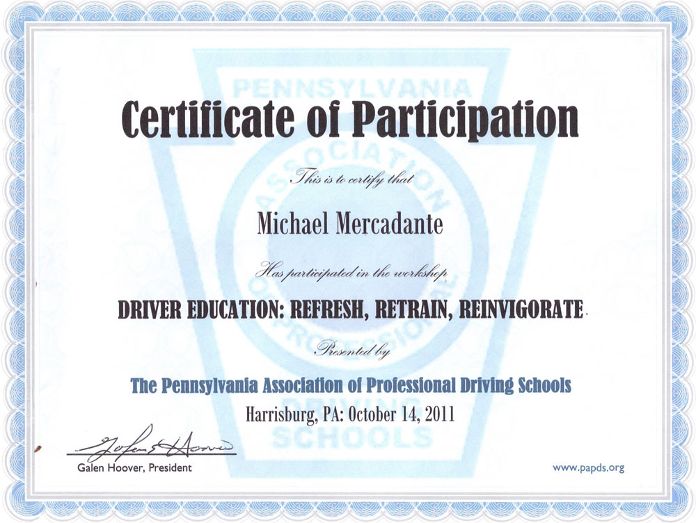About Mike Modern Driver Institute