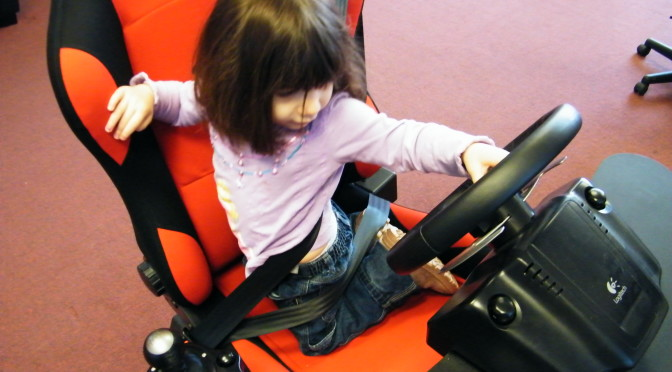 Teach Your Toddler To Drive